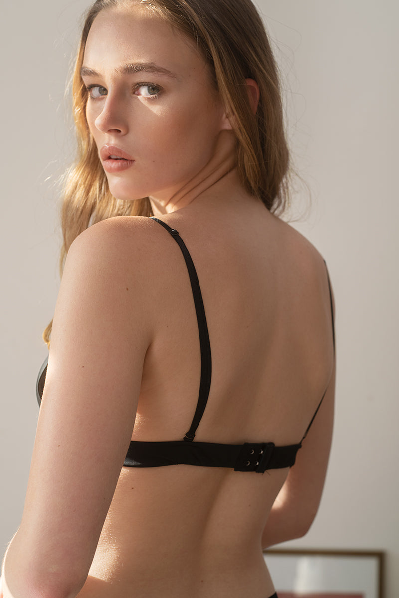 Mia Microfibre Convertible Padded Bralette by perk by kate
