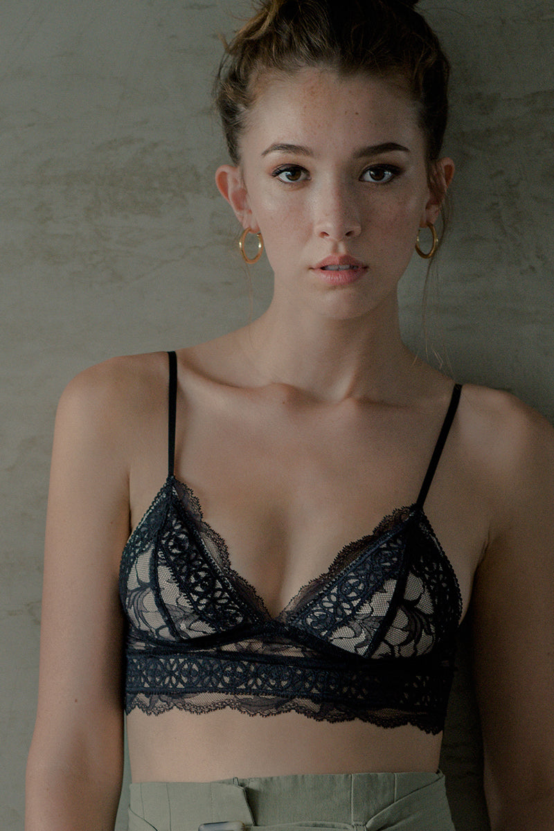 Olivia Push Up Padded Bralette by perk by kate