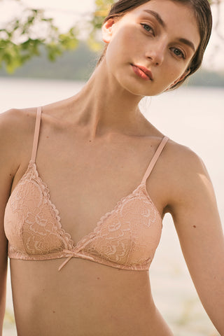 All Lace Padded Bralette by Samantha Chang