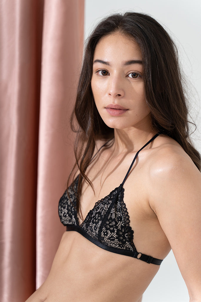 Piper T-back Padded Bralette by perk by kate