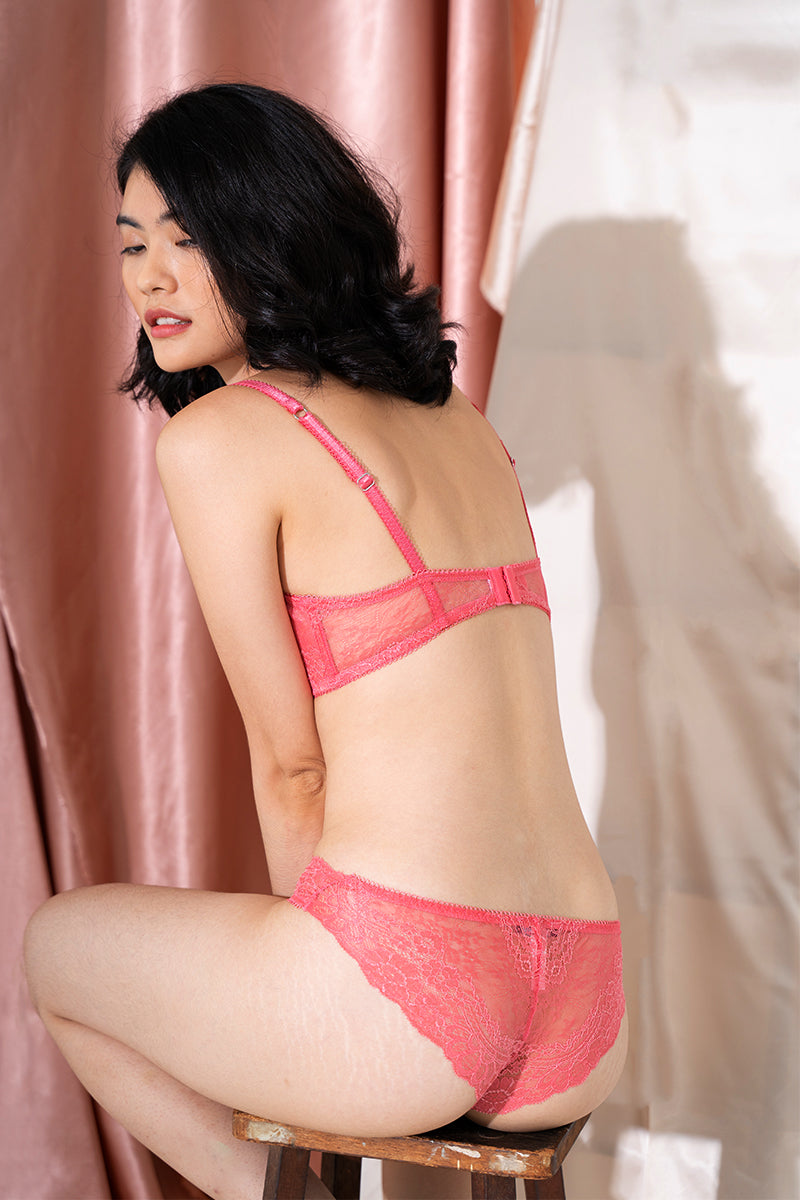 All Lace Boudoir Brief by Samantha Chang