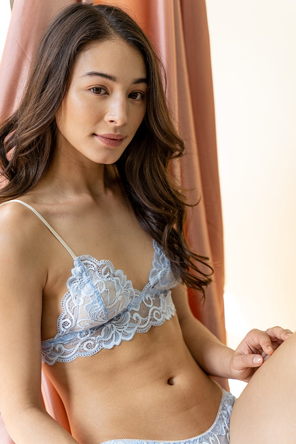 Sheena Convertible Padded Bralette by perk by kate