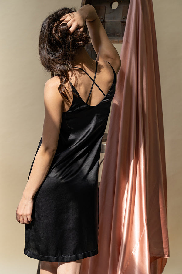 Stella Silk Chemise by perk by kate