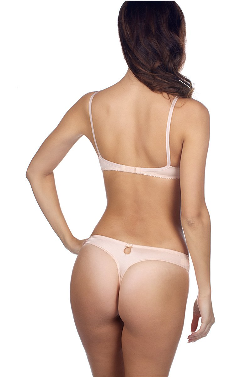 Timpa Duet Lace Low Thong