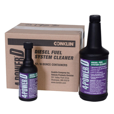 4-Power® D - Diesel Fuel System Cleaner & Emergency De-Icer 12 bottle (8 oz.)/case Fuel Conditioners Fuel & System Cleaners