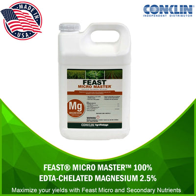Feast® Micro Master™ 100% EDTA-Chelated Magnesium 2.5% [variant_title] MICRO & SECONDARY NUTRIENTS