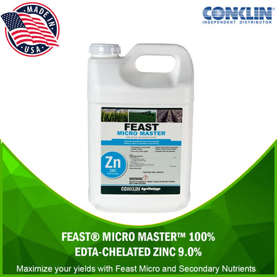 Feast® Micro Master™ 100% EDTA-Chelated Zinc 9.0% [variant_title] MICRO & SECONDARY NUTRIENTS