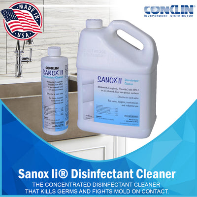 Sanox II® Disinfectant Cleaner [variant_title] HEAVY-DUTY CLEANERS