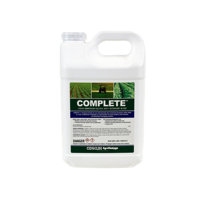 Complete™ Liquid Ams/Drift Retardant Blend 5 gallons (in two 2½ gallon containers) ADJUVANTS