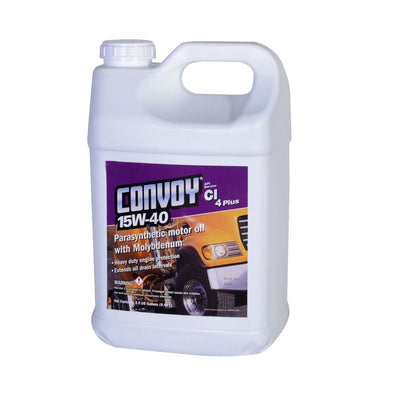 Convoy® 15w-40 Ci-4 Plus Motor Oil 5 Gallons (in two 2½ gallon containers) Motor Oils & Treatments