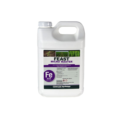 Feast® Micro Master™ 100% EDTA-Chelated Iron 4.5% Single 2½ gallon MICRO & SECONDARY NUTRIENTS