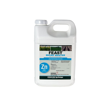 Feast® Micro Master™ 100% EDTA-Chelated Zinc 9.0% Single 2½ gallon MICRO & SECONDARY NUTRIENTS