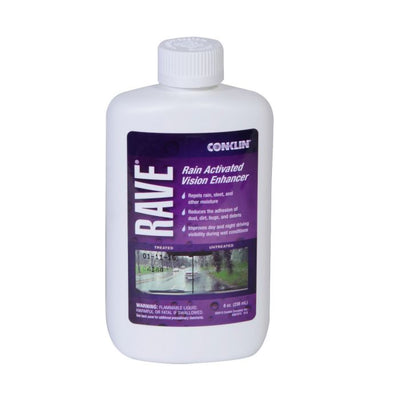 Rave® Windshield Treatment 6 bottle (8 oz.)/cs. Appearance