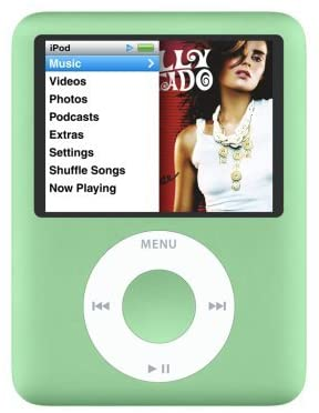 Apple iPod Nano 3rd Generation 8GB - Green (Refurbished)