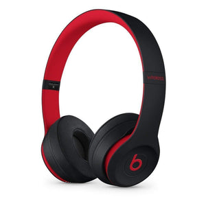 Beats Solo3 Wireless On-Ear Headphones Beats Decade Collection - Defiant Black Red (Refurbished)