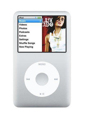 Apple iPod Classic 6th Generation 80GB - Silver (Refurbished)