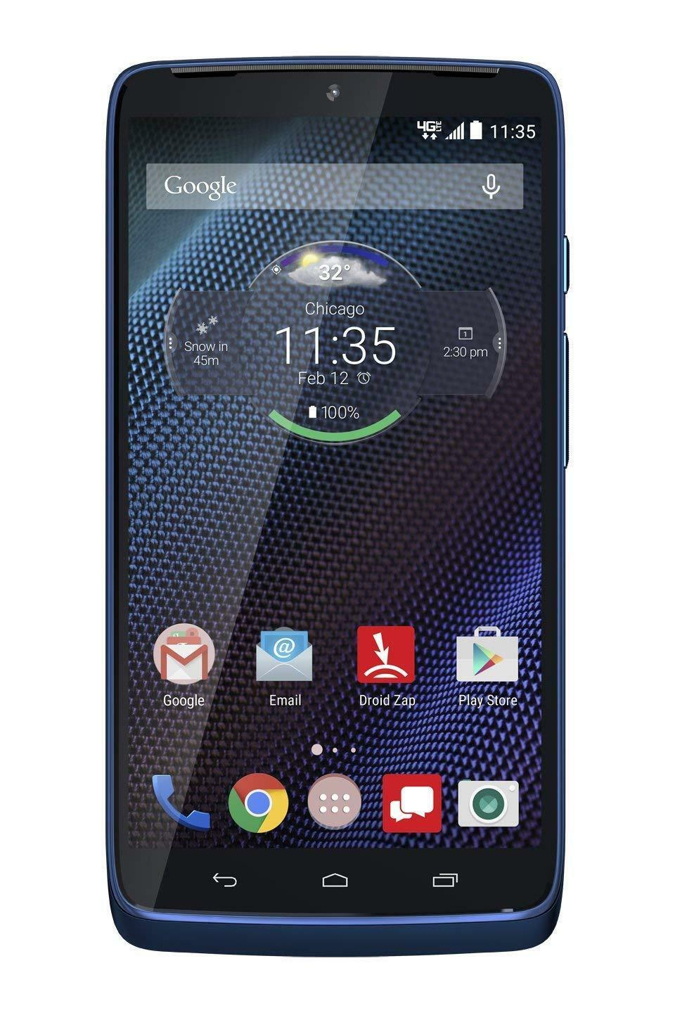 Motorola Droid Turbo 32GB Smartphone XT1254 - Blue Ballistic Nylon (Refurbished)