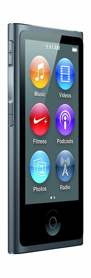 Apple iPod Nano 7th Generation 16GB - Space Gray (Refurbished)