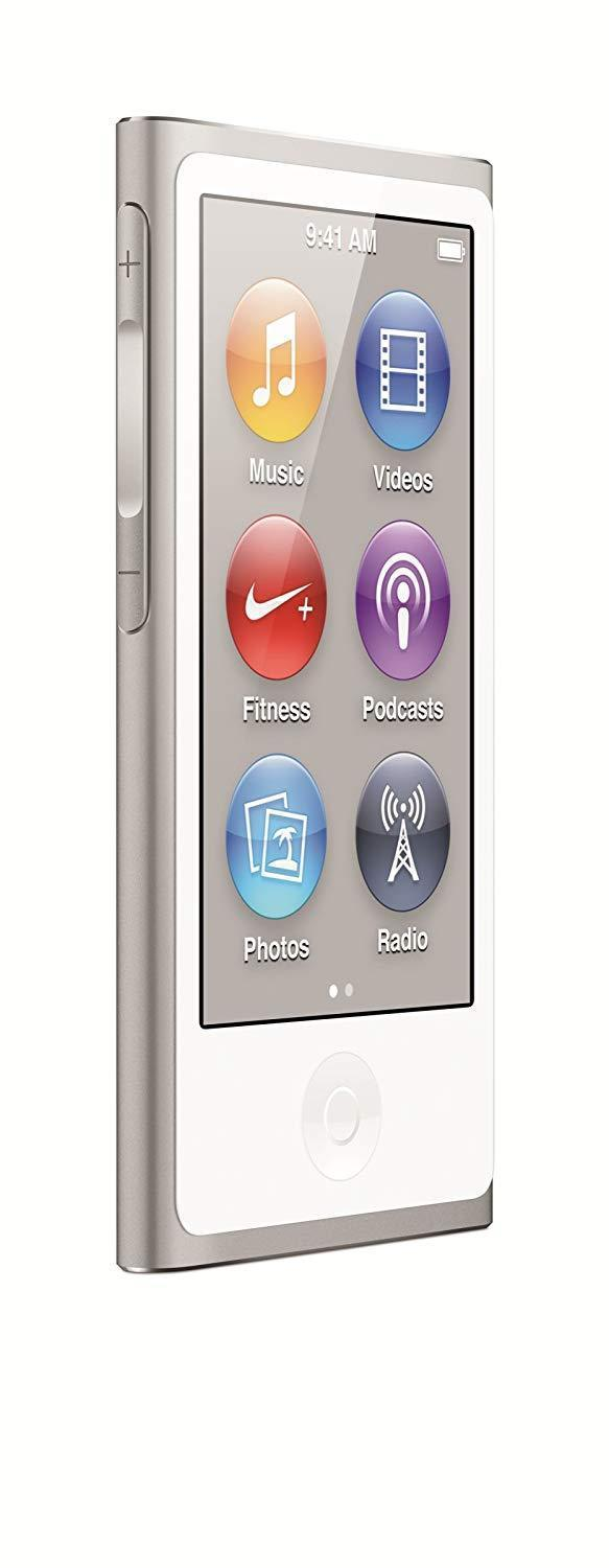 Apple iPod Nano 7th Generation 16GB - Silver (Refurbished)