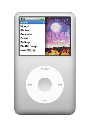 Apple iPod Classic 7th Generation 120GB - Silver  (Refurbished)