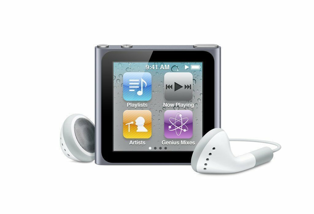 Apple iPod Nano 6th Generation 8GB - Graphite (Refurbished)