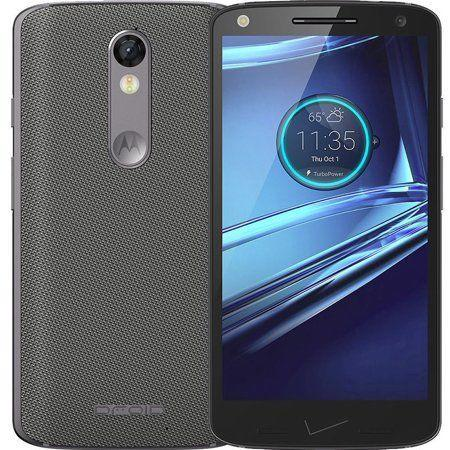 Motorola Droid Turbo 2 XT1585 32GB Verizon 4G LTE Smartphone XT 1585 Gray  Nylon (Refurbished)
