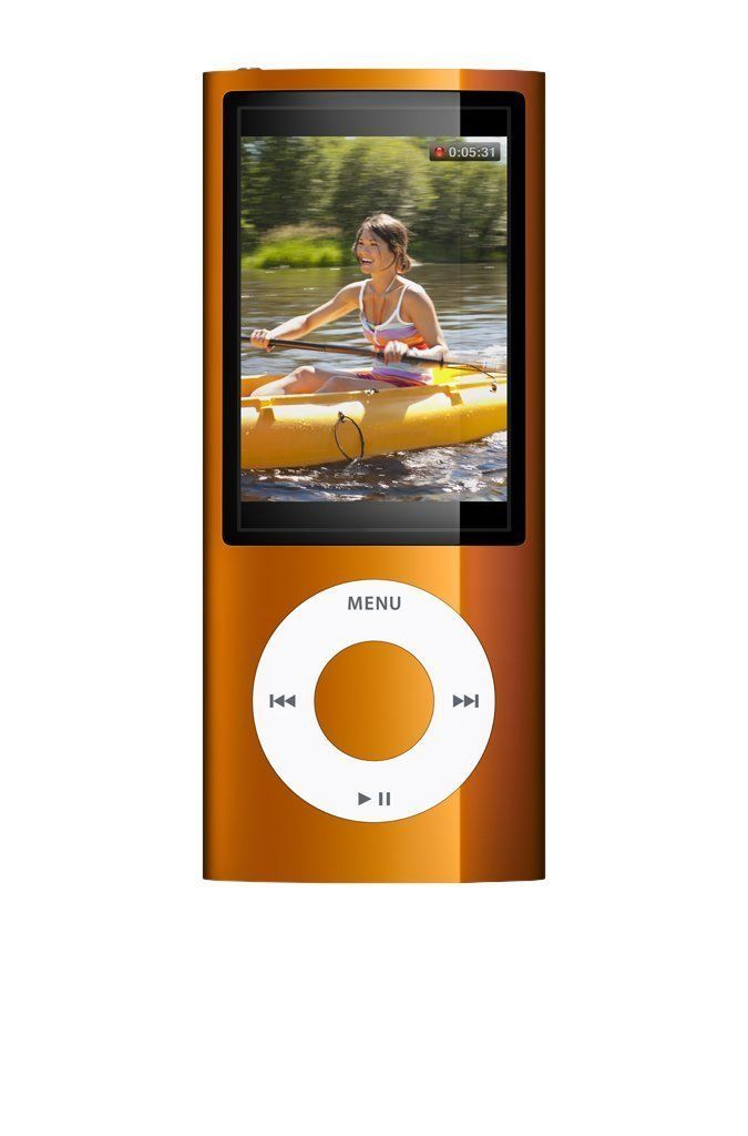 Apple iPod Nano 5th Generation 8GB - Orange (Refurbished)