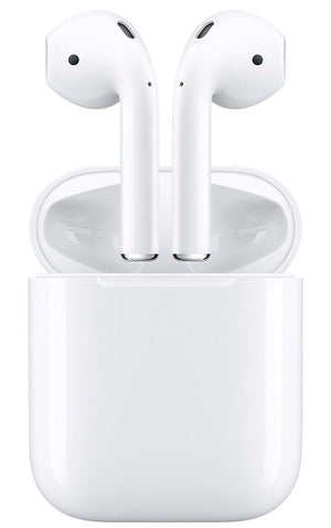 Apple AirPods In-Ear Bluetooth Headsets w/ Charging Case (Refurbished)