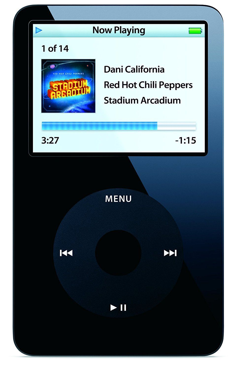 Apple iPod Classic 5th Generation 30GB - Black (Refurbished)