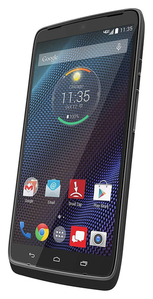 Motorola Droid Turbo 32GB XT1254 Grey Ballistic Nylon Smartphone 32 GB XT 1254 (Refurbished)