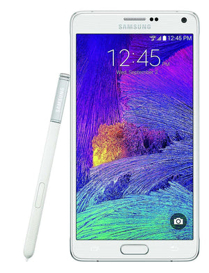 Samsung Galaxy Note 4 Smartphone 32GB SM-N910V for Verizon, White Frost (Refurbished)