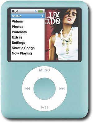 Apple iPod Nano 3rd Generation 8GB - Blue (Refurbished)