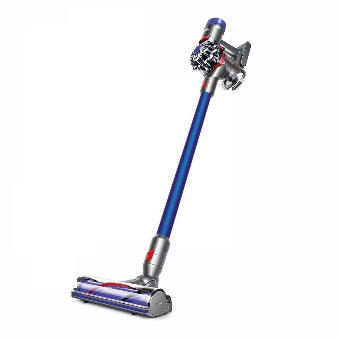 Dyson V8 Absolute Cordless Stick Vacuum Cleaner, Blue (Refurbished)