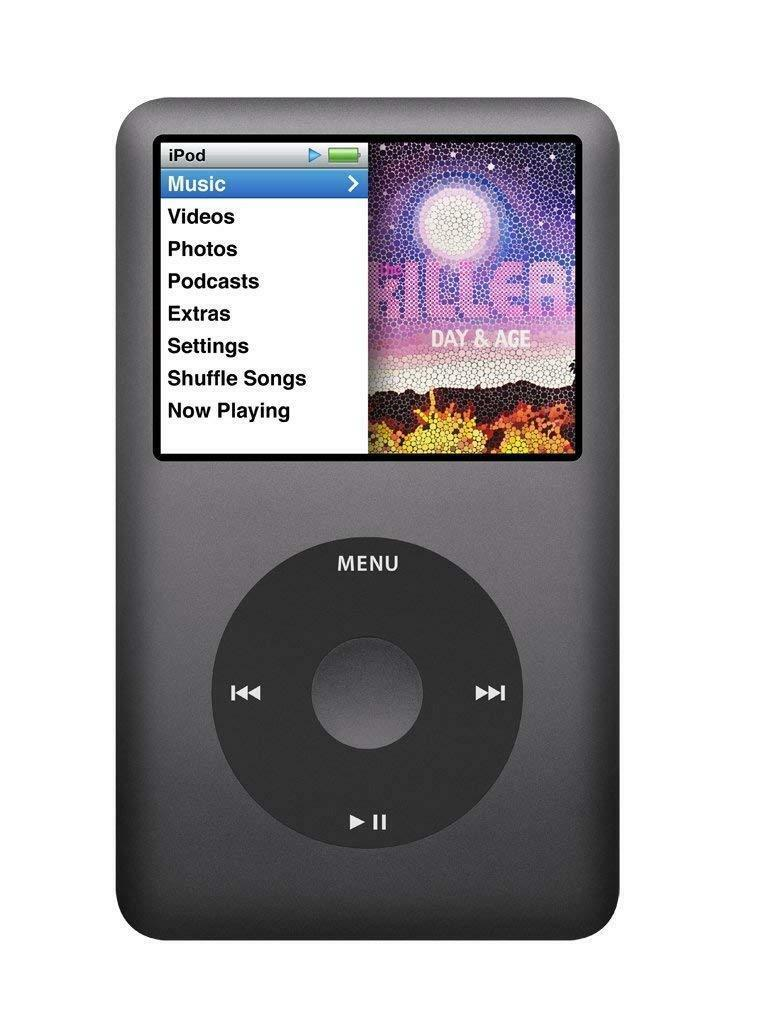 Apple iPod Classic 120GB 7th Generation - Black (Refurbished)