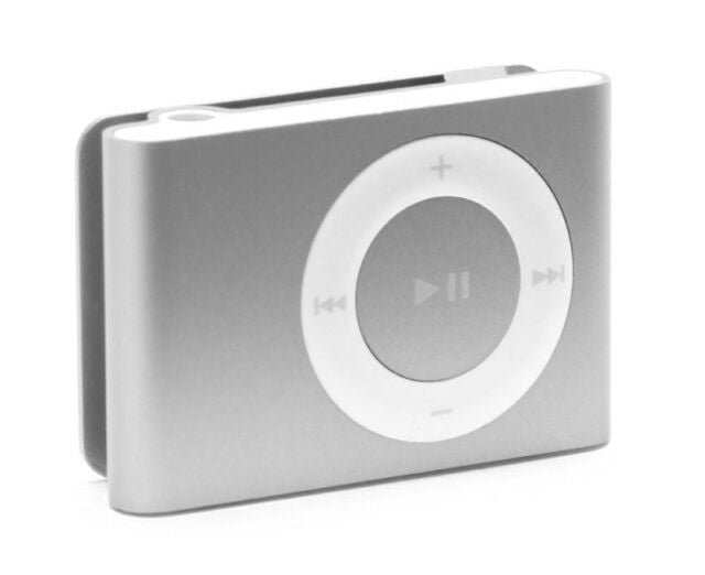 Apple iPod Shuffle 1 GB  2nd Generation - Silver (Refurbished)