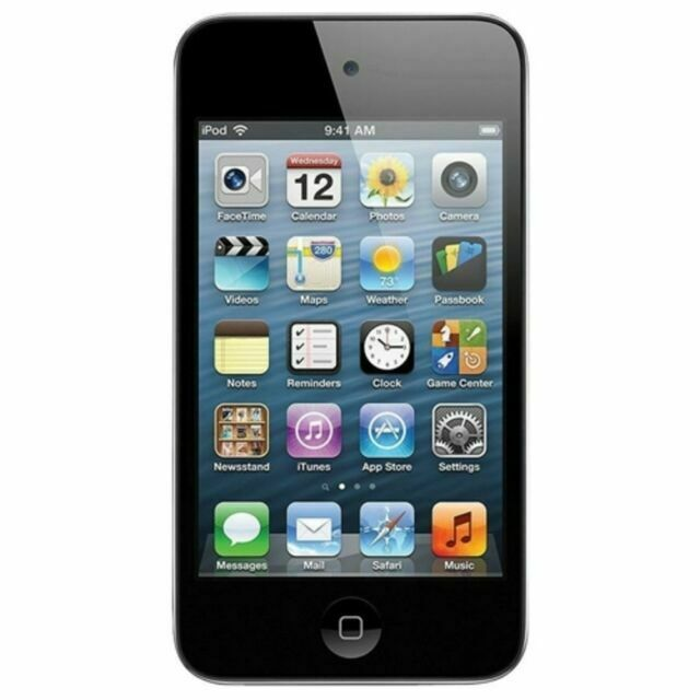 Apple iPod Touch 4th Generation 8GB - Black (Refurbished)
