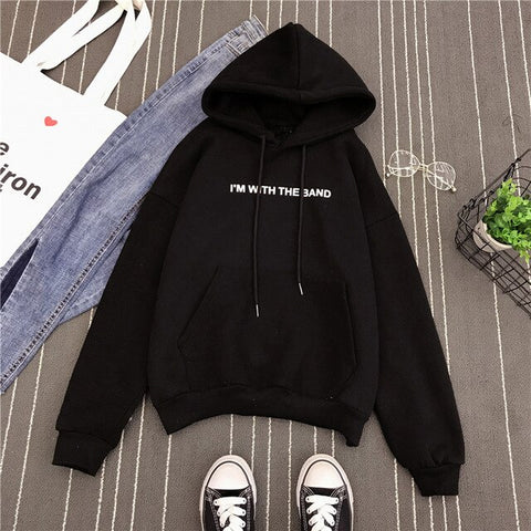 """I'M WITH THE BAND"" HOODIE"