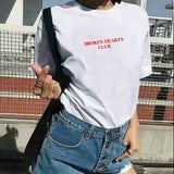 """BROKEN HEARTS CLUB"" TEE"