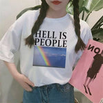 """HELL IS PEOPLE"" TEE"