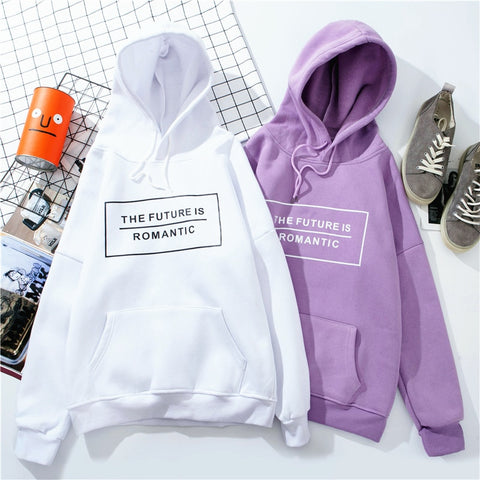 """THE FUTURE IS ROMANTIC"" HOODIE"