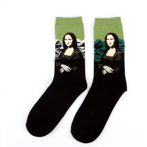 """MONA LISA"" SOCKS"