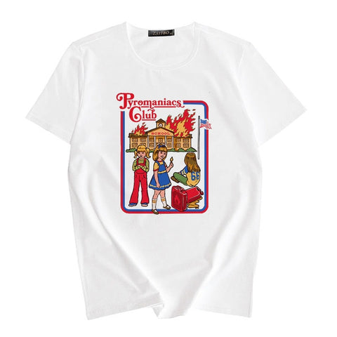 """PYROMANIACS CLUB"" TEE"