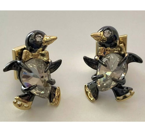 Alexis Bittar Baby Penguin Stud Earrings