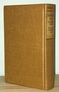Chaucer - Canterbury Tales - De Luxe Edition - Hard Cover Book - Illustrated by Rockwell Kent