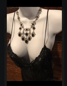 Vintage Marie Ferra Statement Necklace