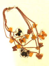 Load image into Gallery viewer, Gay Isber Designer Lucite Butterfly Cascading Choker