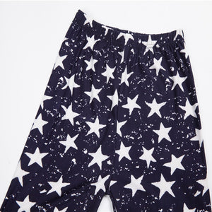 Causal Women Leggings, Fashion Star Print Leggins with High Waist