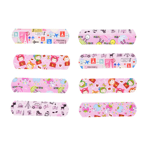 Comic Cartoon FUN Adhesive Bandages For Kids