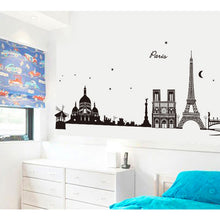 Load image into Gallery viewer, Paris Eiffel Tower Wall Sticker Removable Art  Decal