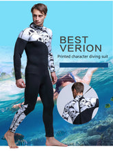 Load image into Gallery viewer, Rubber man Siamese surf wear wetsuit